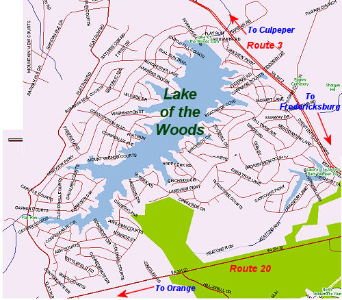 Sell Your Home In Fredericksburg VA, Lake Of The Woods